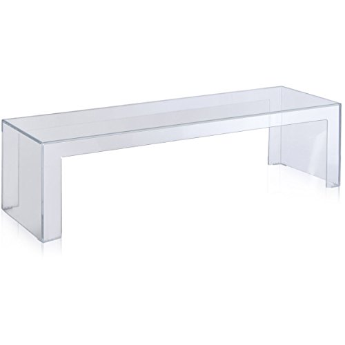 Kartell, Invisible 500, Consolle, Trasparente, 40 x 120 x 31 cm