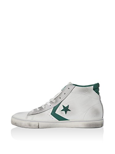 Converse - Converse All Star Herrenschuhe Weiss Pro Leather Mid WHITE/POOL TABLE/TURTLEDOVE