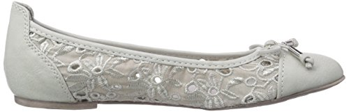 Marco Tozzi Cool Club 42401, Ballerines fermées fille Argent - Silber (Ice / 104)
