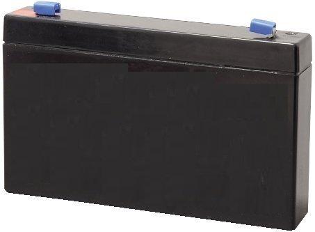 Batteria WAVE LIFE al piombo 6v 12Ah Mis.:151x50x99mm per GRUPPI CONTINUITA' o PEG PEREGO
