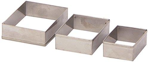 STAEDTLER 8724 04 PB - Fimo Cortador de Diamantes Profesional, 3 Piezas, Metal