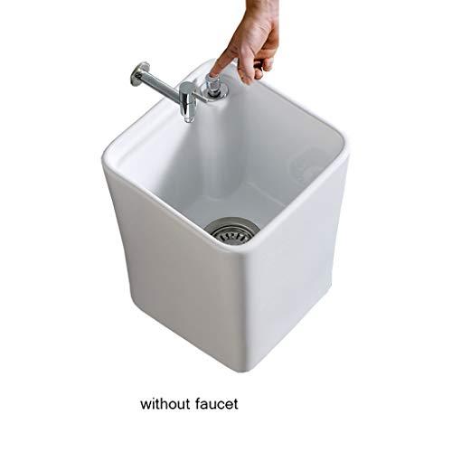 Wash Mop Pool, Baño Doméstico, Mini Floor Cleaning System, Dispensador De Agua Y Grifo (Color : Without tap)