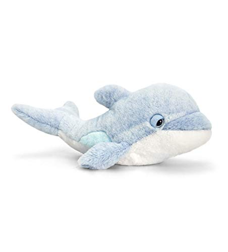 Keel Toys SW0761 - Delfín de Peluche (35 cm), Color Azul