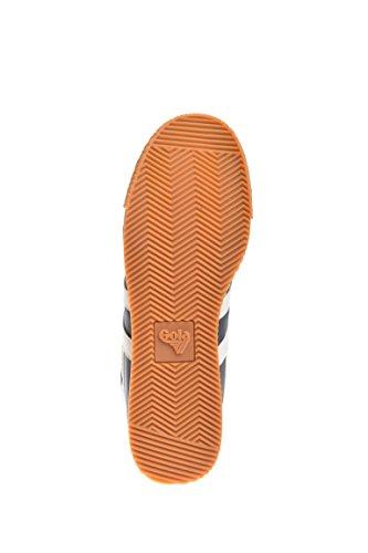Gola Harrier Nylon, Sneaker Uomo Grigio (Graphite/off White Gw)