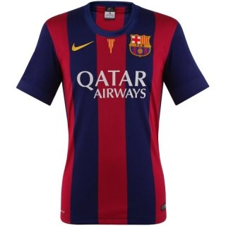 Nike FC Barcellona SS Home Stadium Jersey Blue Red 14/15 FC Barcelona S Blau - Bleu Franc/Soleil -