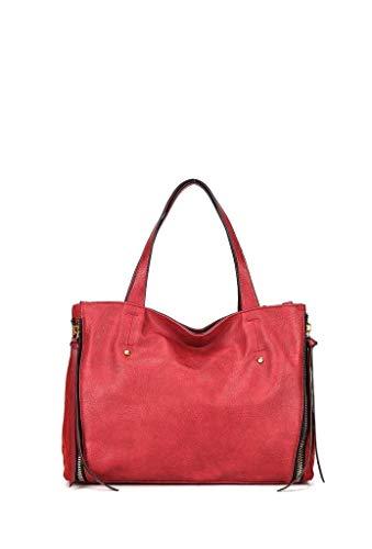 9aa176a530 Angkorly Borse tote cabas shopper de hombro Tote bag Tote bag Fleco  cremallera moderno Flexible Sporty