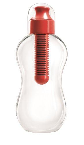 bobble (Bobble) con la botella de agua del filtro 385ml Rojo 2031 (jap