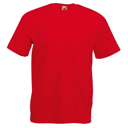 Fruit of the Loom Valueweight T-Shirt Rot