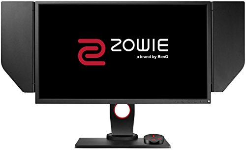 BenQ ZOWIE XL2540 24.5 Inch 240Hz e-Sports Gaming Monitor with 1ms, Height Adjustable Stand, S Switch, Black eQualizer, Shield, Dark Grey [Vecchio Modello]