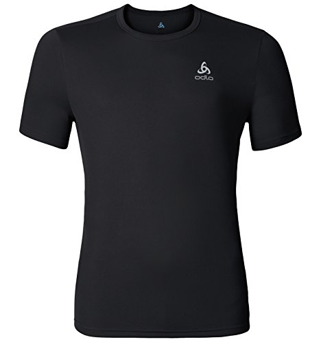Odlo Herren S/S Crew Neck Cardada T-Shirt black