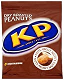 KP Dry Roasted Peanuts 50g bag (card of 24)