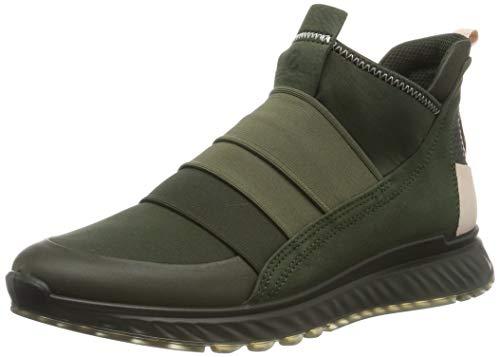 ECCO Damen ST.1 W Hohe Sneaker, Grün (Deep Forest/Deep Forest/Rose Dust 51565), 39 EU