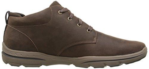 Skechers (SKEES) Harper, Baskets Basses Homme brown (CHOC)