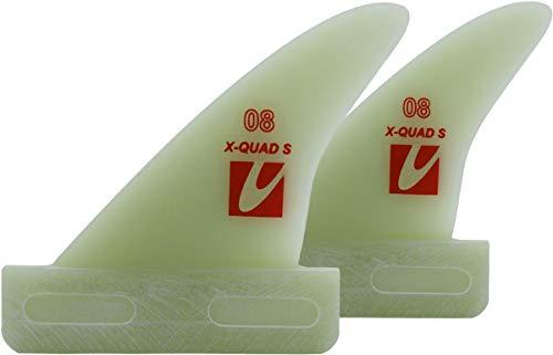 Maui Ultra Fins MUF X-Quad-S Windsurf/Surf Multi Wave Finne, Finnenlänge:10cm, Finnen Box:US-Box -