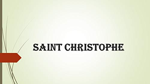 Couverture du livre SAINT CHRISTOPHE