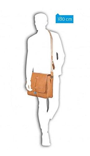 Piquadro Messenger porta computer con porta iPad®Air/Air2, fatta a mano con pellame italiano pieno fiore - CA3002IT (Rame) Sabbia