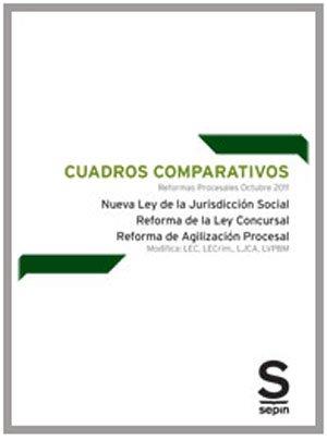 Cuadros Comparativos. Reformas Procesales. Octubre 2011 (Monográficos) por Editorial Sepin