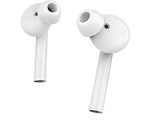 Meya Happy 7s Series Bluetooth Wireless Earphones with Mic | Twin Use in Ear Hands Free Compatible with Apple iPhone 6 / 6S / 7 / 7S, Samsung, Oppo, Xiaomi Redmi Mi, Vivo, Samsung Mobile Phones