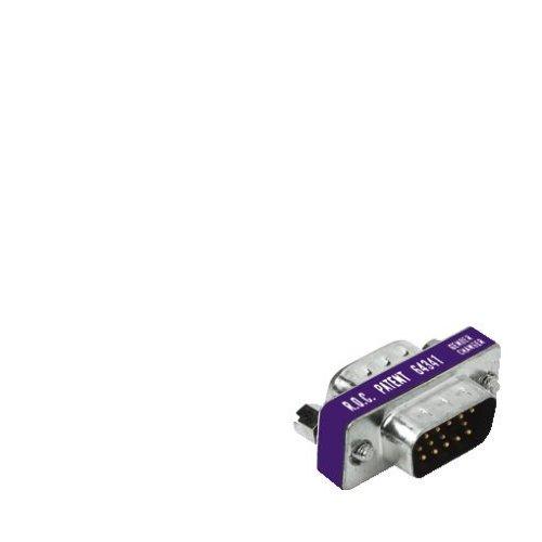 Hama Monitor Gender-Changer 15poliger HDD-Stecker