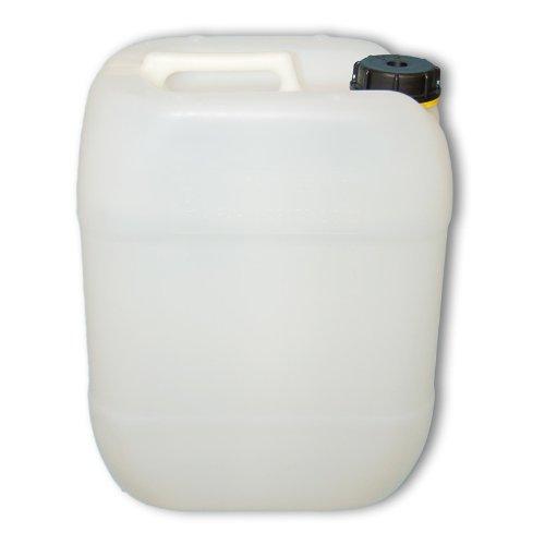 Premium Kanister 20L / natur aus HDPE / mit Schraubverschluss