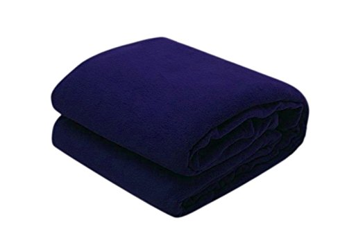 Super India 5 Piece Fleece Single Blanket Set - Multicolour