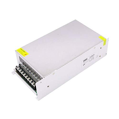 Peanutaod Leistungsstarkes 12V 60A 720W DC-Wandler-Netzteil für LED-Eingangswechselstrom 220V 60a Netzteil