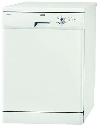 Zanussi ZDF2020 60cm dishwasher, 12 place settings, AAA rated, 30 min quick wash, white