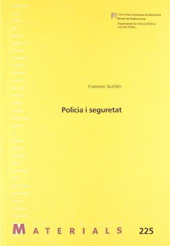 Policia i seguretat (Materials) por Francesc Guillén