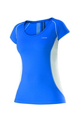 HEAD Club Technisches Damen-T-Shirt, Damen, Club Technical, blau Preisvergleich