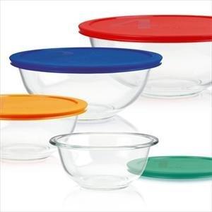 Quality Smart Essentials 8-Pc Bowl Set By Pyrex PYREX-8Pc