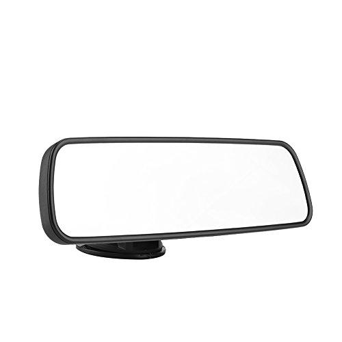 KIMISS 24,8 * 7 cm Auto Frontscheibe Rückspiegel mit Saugnapfhalterung Innen Zubehör