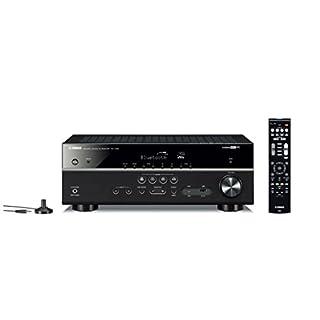 Yamaha RX-V485 - Alexa compatible MusicCast AV receiver with Wi-Fi and Bluetooth - 5.1 Cinema Surround Sound - Black