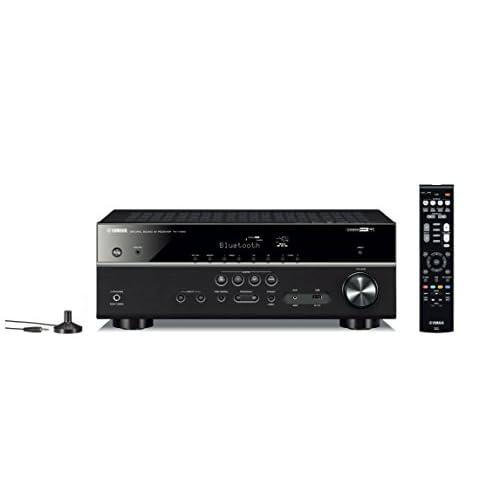 31Z9JB6Ff2L. SS500  - Yamaha RX-V485 – Alexa compatible MusicCast AV receiver with Wi-Fi and Bluetooth – 5.1 Cinema Surround Sound – Black