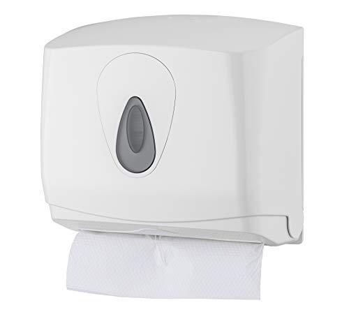 All Care 5541 PlastiQline Kunststoff Handtuchspender, Klein, Weiß