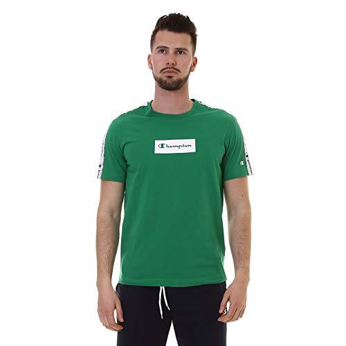 Patch Crewneck T-shirt (Champion T-Shirt Crewneck Größe: S Farbe: GS017)