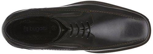 Bugatti 311152011000, Derby homme Noir (schwarz 1000)