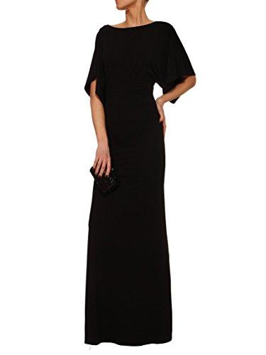 YULIYA BABICH Designer Kleid YY300101 RAL9005; Schwarz
