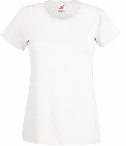Fruit of the Loom T-shirt da donna Rosa