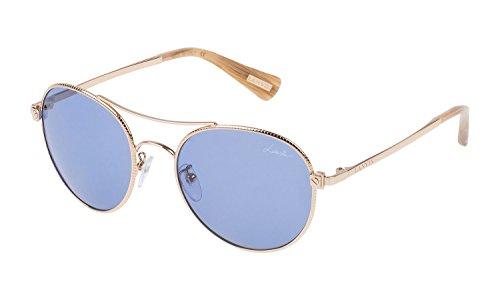 Unbekannt Sonnenbrillen Lanvin SLN067 GOLD/BLUE Damenbrillen