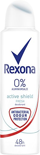 Rexona Men Deospray Active Fresh, ohne Aluminium, 6er Pack (6 x 150 ml)