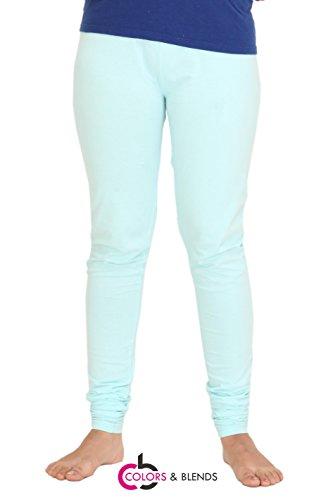 Colors & Blends - Women's Cotton-Lycra Leggings/Churidars
