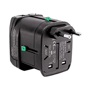 AVB-USB2-Adapter Universal Travel Charger mit 2 USB-Ports - 33500180