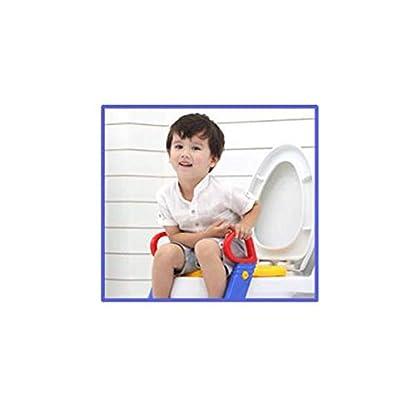 31Z9dDZEntL. SS416  - Cisne 2013, S.L. Tapa Asiento para Inodoro para niños con reposabrazos Antideslizante. Reductor Inodoro niño WC. Medidas 25x25cm. Color Verde.