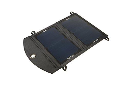Xtorm AP150 SolarBooster Solar Panel (12 Watt, USB, 12V) schwarz Electronic-outlet-panel