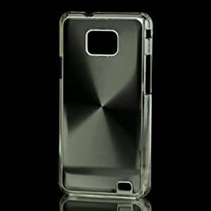Iprotect ORIGINAL Samsung Galaxy S2 II i9100 HIGHEND HARDCASE VINYL Schwarz
