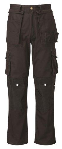 Black Knight PC300AVCTL - Pantaloni da lavoro, taglia 34, gamba lunga, colore: Nero
