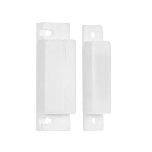OWSOO Reed-Schalter-Warnung Verdrahteter Tür Fenster Kontakt Magnetsensor-Intrusion Detector Reed-Schalter-Warnung für Warnungssystem Intrusion Detector