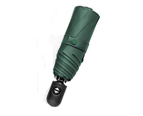 ANNY Tragbarer Sonnenschirm mit automatischem Sonnenschirm die leichtesten Schattierungen der Sonne 50% Regenschirm mit doppeltem Verwendungszweck Weiblicher automatischer Schrumpf-Sonnenschirm, gerin