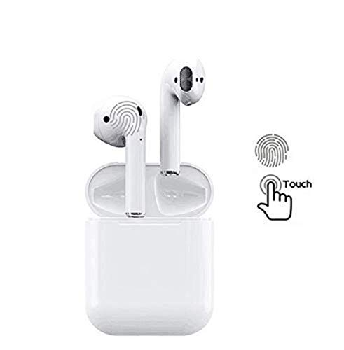 Lizzie i11 5.0 Wireless Earphone with Portable Charging Case Supporting All Smart Phones and Android Phones with Sensor Image 3