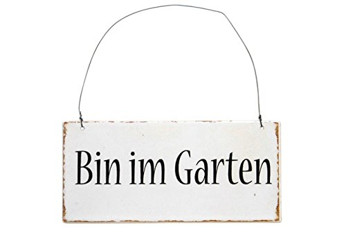 IB Laursen Metalskilt Bin Im Garten [NPR]